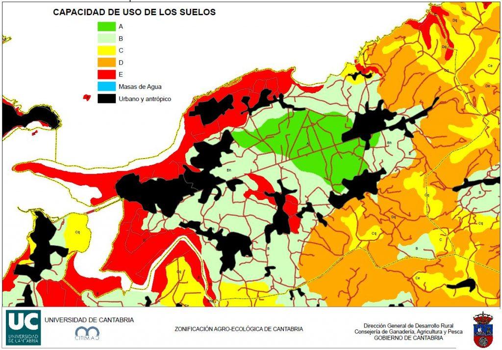 capacidad agrologica suelos ralm